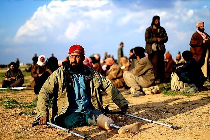 IŞİD'in son mevzisinden kaçış... galerisi resim 6