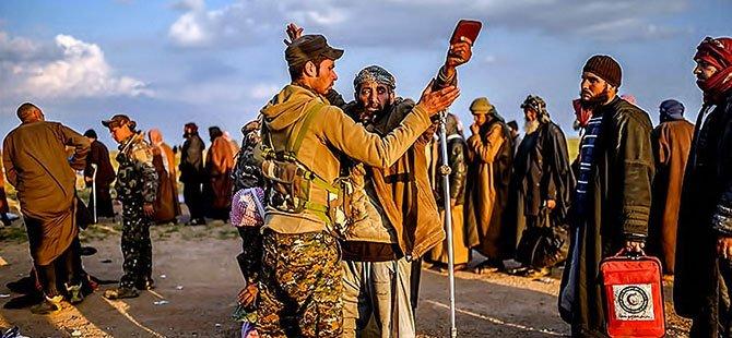 IŞİD'in son mevzisinden kaçış...