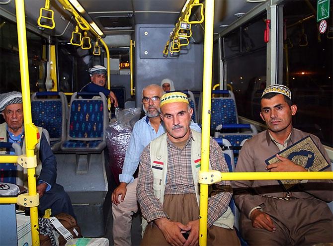 Fotoğraflarla Kürdistan'a dönen ilk hacı kafilesi galerisi resim 16