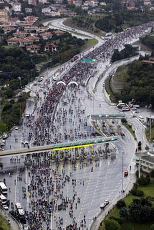 Avrasya Maratonundan renkli kareler galerisi resim 3