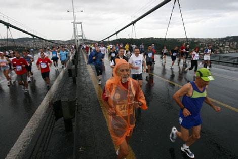 Avrasya Maratonundan renkli kareler galerisi resim 5