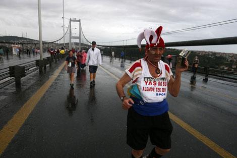 Avrasya Maratonundan renkli kareler galerisi resim 6
