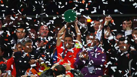 Son UEFA Kupası sahibini buldu galerisi resim 16