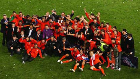 Son UEFA Kupası sahibini buldu galerisi resim 17