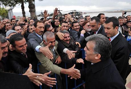 Cumhurbaşkanı Gül'e Tunceli'de Yoğun İlgi galerisi resim 1