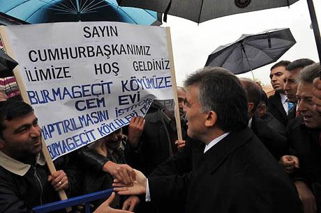 Cumhurbaşkanı Gül'e Tunceli'de Yoğun İlgi galerisi resim 11