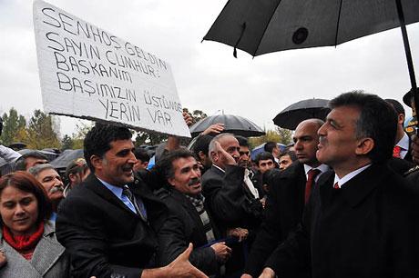 Cumhurbaşkanı Gül'e Tunceli'de Yoğun İlgi galerisi resim 14