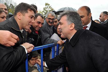 Cumhurbaşkanı Gül'e Tunceli'de Yoğun İlgi galerisi resim 17