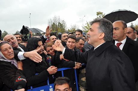 Cumhurbaşkanı Gül'e Tunceli'de Yoğun İlgi galerisi resim 18