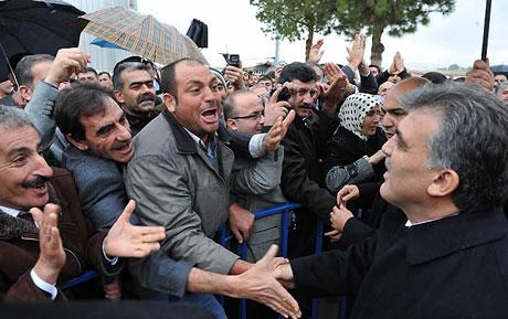 Cumhurbaşkanı Gül'e Tunceli'de Yoğun İlgi galerisi resim 2