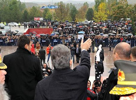 Cumhurbaşkanı Gül'e Tunceli'de Yoğun İlgi galerisi resim 20