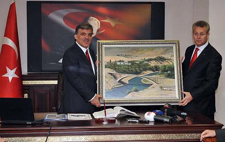 Cumhurbaşkanı Gül'e Tunceli'de Yoğun İlgi galerisi resim 22