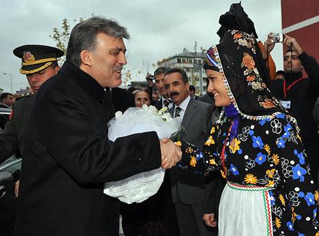 Cumhurbaşkanı Gül'e Tunceli'de Yoğun İlgi galerisi resim 26