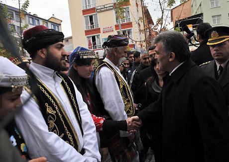 Cumhurbaşkanı Gül'e Tunceli'de Yoğun İlgi galerisi resim 28