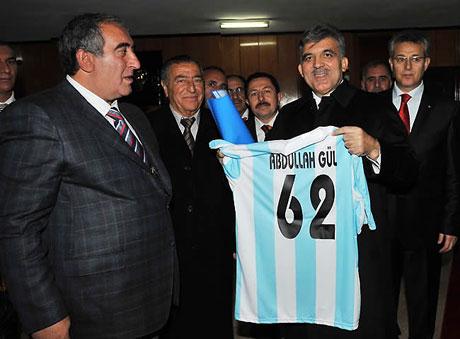 Cumhurbaşkanı Gül'e Tunceli'de Yoğun İlgi galerisi resim 31