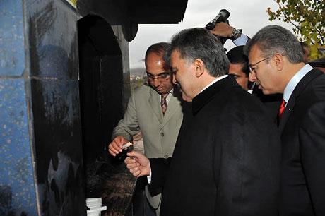 Cumhurbaşkanı Gül'e Tunceli'de Yoğun İlgi galerisi resim 32