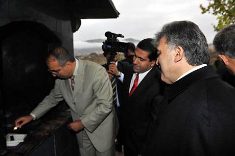 Cumhurbaşkanı Gül'e Tunceli'de Yoğun İlgi galerisi resim 33