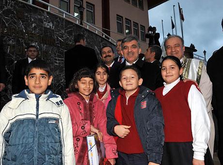 Cumhurbaşkanı Gül'e Tunceli'de Yoğun İlgi galerisi resim 41
