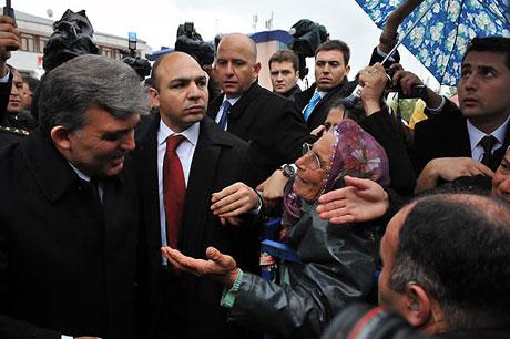 Cumhurbaşkanı Gül'e Tunceli'de Yoğun İlgi galerisi resim 7
