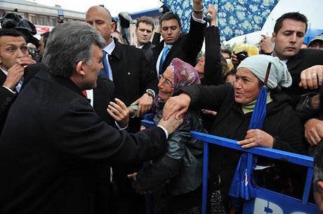 Cumhurbaşkanı Gül'e Tunceli'de Yoğun İlgi galerisi resim 8