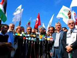 İsmail Haniye Filistin Konvoyuna teşekkür etti