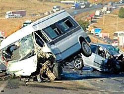 Şanlıurfa'da trafik kazası: 5 ölü