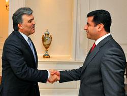 Cumhurbaşkanı Demirtaş'ı kabul etti