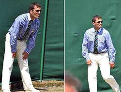 Wimbledon'a İHL'li hakem