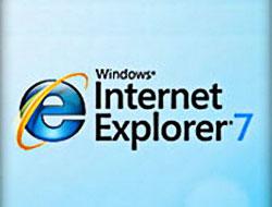 Internet Explorer 6 ve 7'de açık