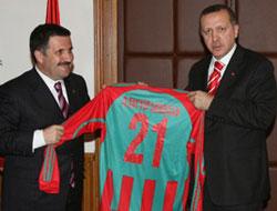 Erdoğan'dan Diyarbakırspor'a telgraf