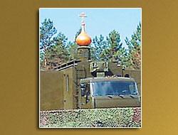 Kızıl Ordu'ya 'mobil kilise'