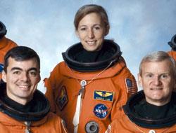 NASA'nın kadın astronotu Ay'ı anlattı