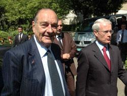Chirac'a 'Baykal' sorusu!