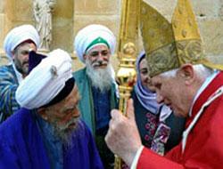 Papa, Şeyh Nazım'la görüştü