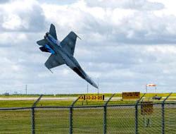 Savaş uçağı böyle çakıldı!