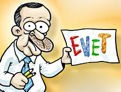 Penguen Erdoğan'ı çizdi!