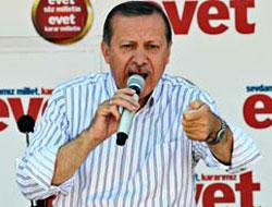 Başbakan Urfa'da Bahçeli'ye çattı