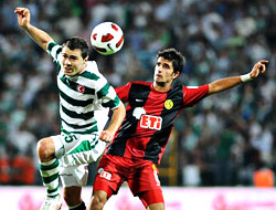 Bursaspor hız kesmiyor: 2-1