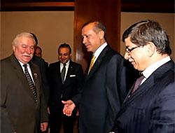 Erdoğan Nobelli Walesa ile görüştü