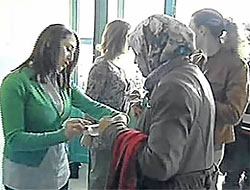 Türbanlı öğrenciler ilk kez sınavda