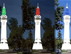 Beyazıt Kulesi neden renklendi?