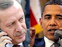 Obama Başbakan Erdoğan'ı aradı