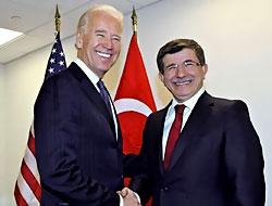 Davutoğlu, Biden'le görüştü