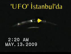 İstanbul'da 'UFO' görüntüleri