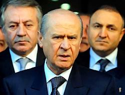Bahçeli Erdoğan'a destek oldu