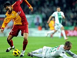 Bursaspor: 2 - Galatasaray: 0
