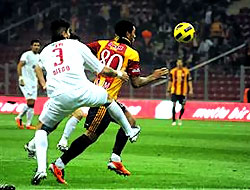 Galatasaray TT Arena'da coştu