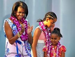 Obama'nın kızlarına Facebook yasak!
