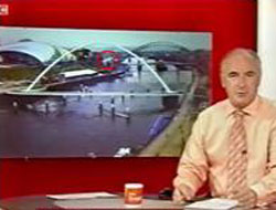BBC canlı yayınında UFO göründü!