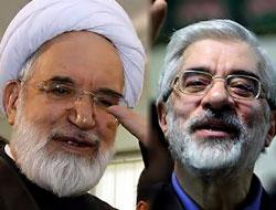 İranda Musavi ve Kerrubi tutuklandı